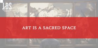 lds perspectives art sacred space title graphic