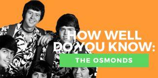Osmonds quiz title graphic