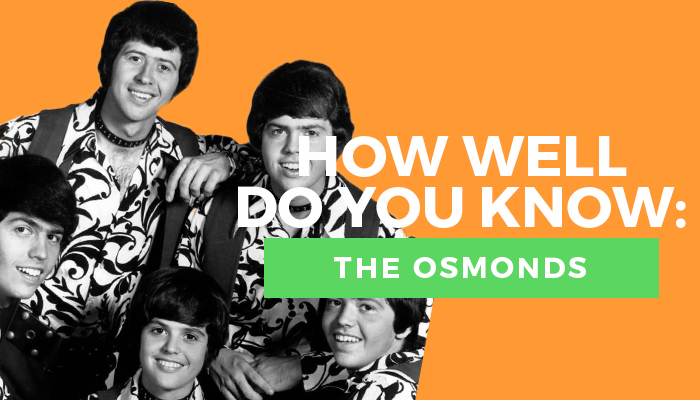 Osmonds quiz title graphic