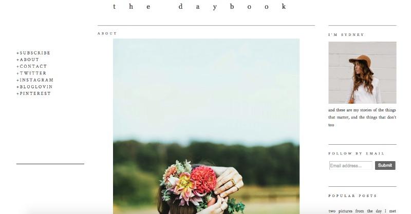 daybook screenshot