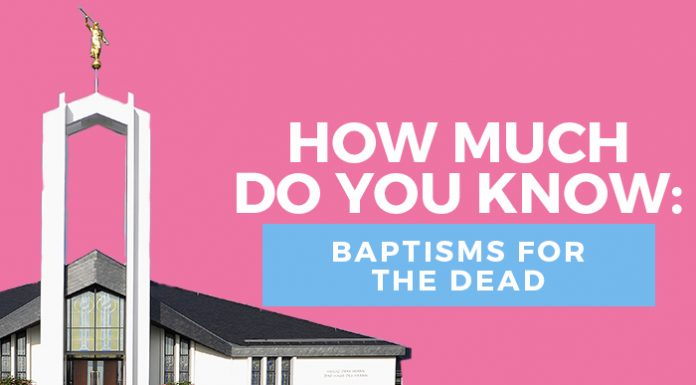 Baptism for the Dead quiz title image
