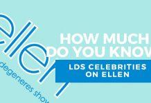Mormon celebrities on Ellen quiz