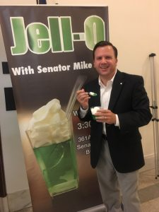 jello with senator Mike Lee
