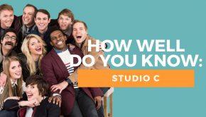 Studio C quiz title graphic