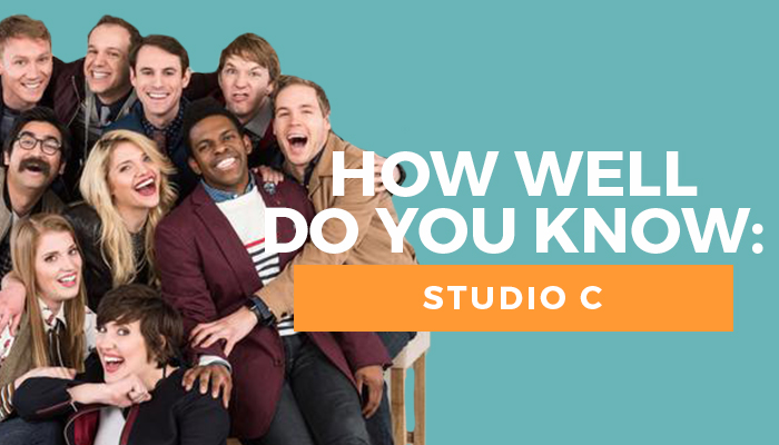 Studio C quiz title graphic