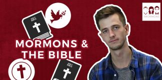 3 Mormons graphic Mormons and the Bible