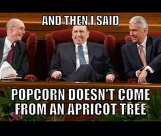General Conference Meme, popcorn popping