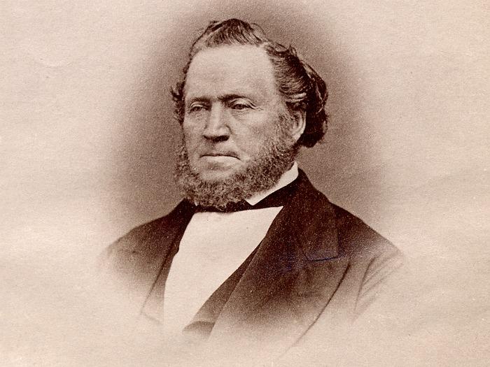 Brigham Young sepia