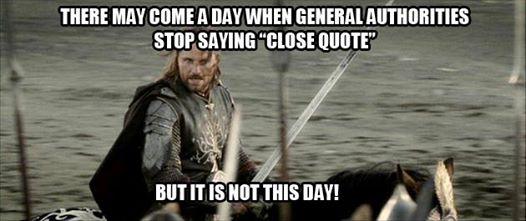 General Conf-lotr