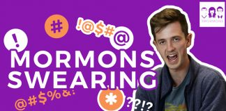 3 Mormons title graphic swearing