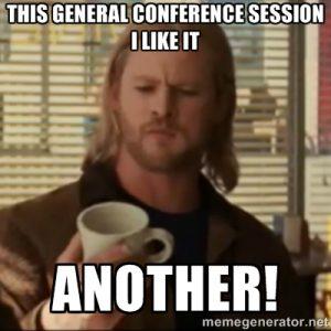 General Conf meme, Thor