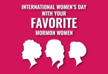 International Women's Day title graphic