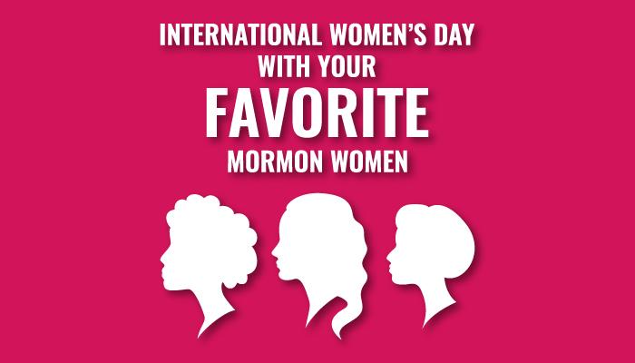 International Women's Day title graphic