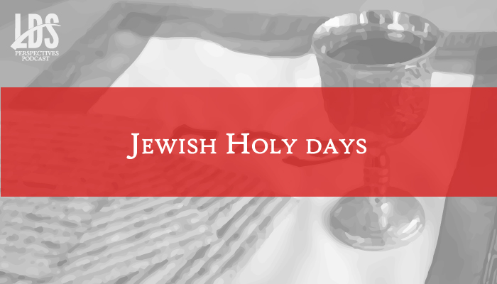 Jewish Holy Days title graphic