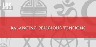 balancing religious tensions title graphic