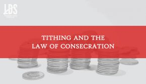 Tithing title graphic
