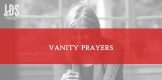 vanity prayers title graphic