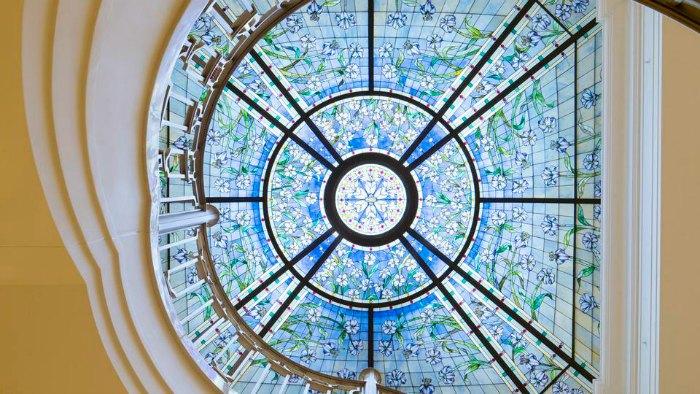 Paris Mormon Temple skylight