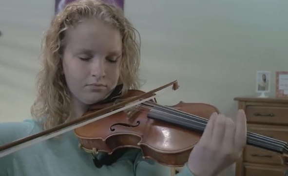 Molly from American Heritage Lyceum Philharmonic Orchestra