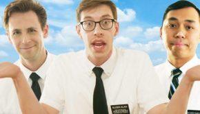 3 Mormon Missionaries