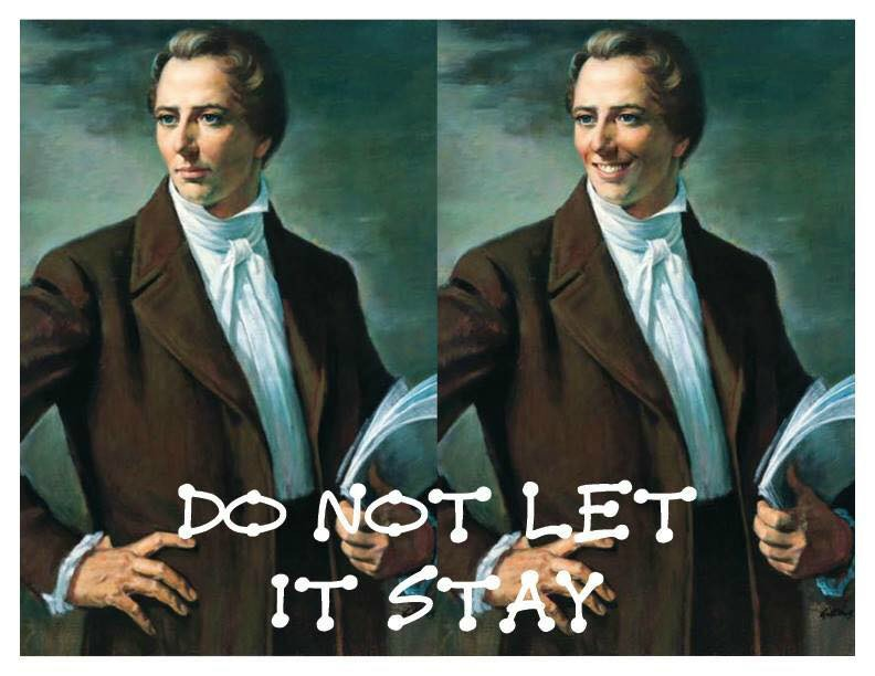 Joseph Smith smiley meme