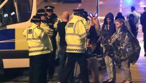 Manchester Terror Attack Scene