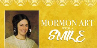 Mormon Art with a smile