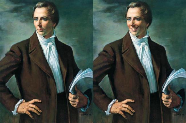 Smiling Joseph Smith