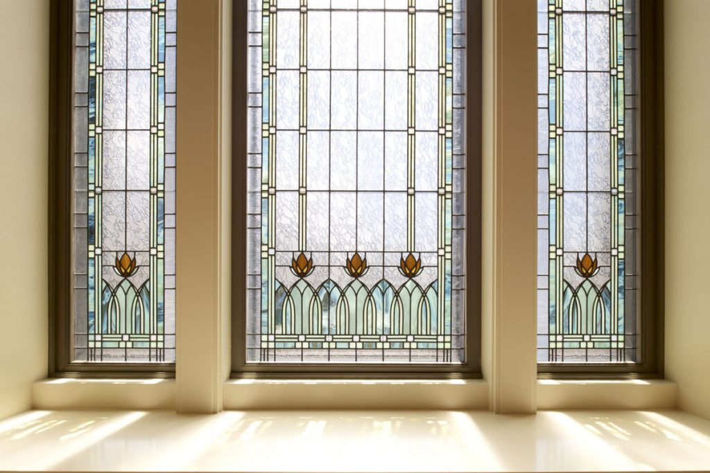 Tucson AZ Mormon Temple windows