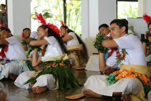 Tongan youth dancing