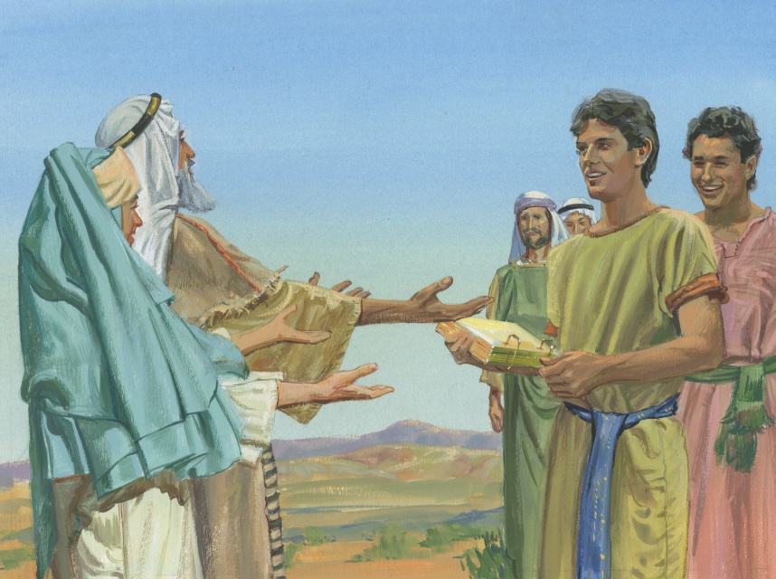 Nephi and Laman