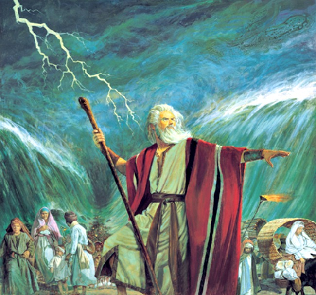 Moses' Rod with supernatural power