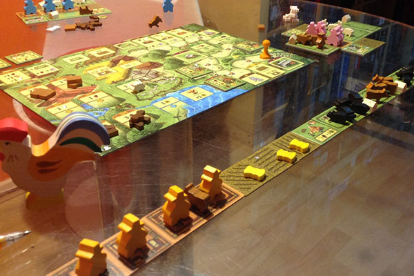 Playing Agricola: Family Edition