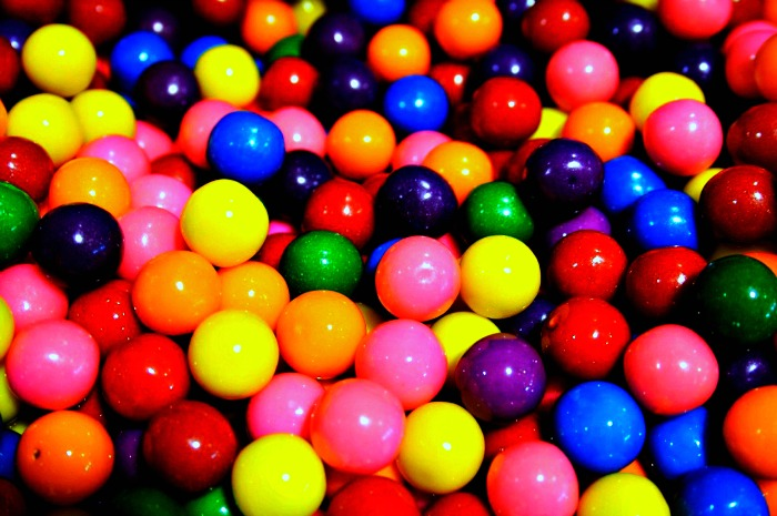 Bubble Gum Balls to Help stop your fidget