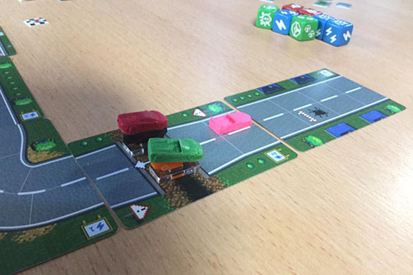 Playing Dice Drivin'