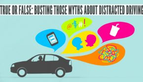 distracted driving myths