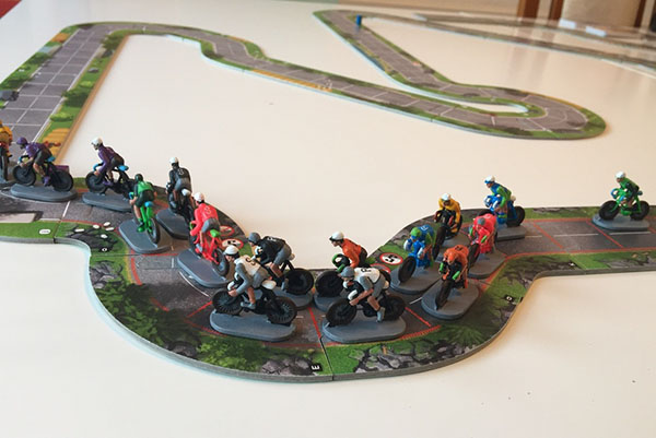 Playing Flamme Rouge