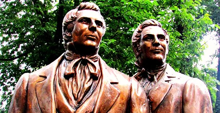 Joseph Smith and Hyrum Smith