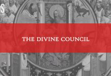 LDS Perspectives divine council title graphic