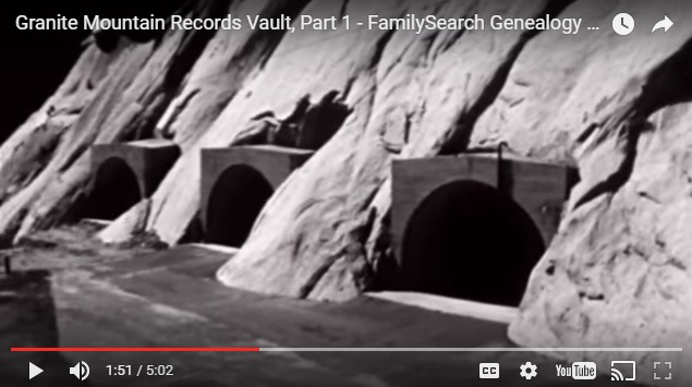 Granite Mountain Records Vault
