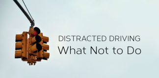 Distracted Driving Not Do