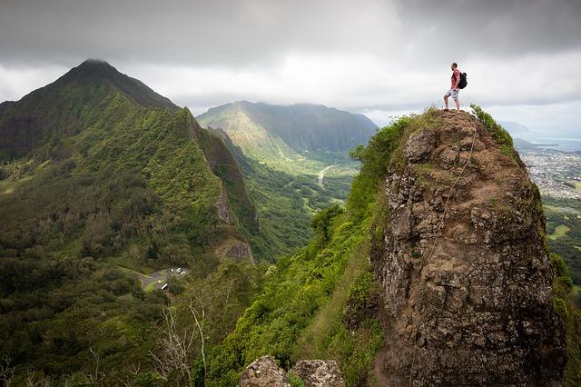 hiking testimony