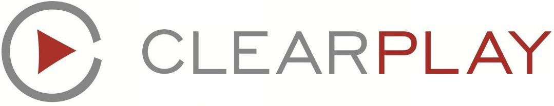 The logo for ClearPlay, a filtering service