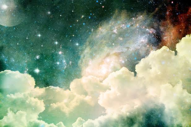 stars and a nebula