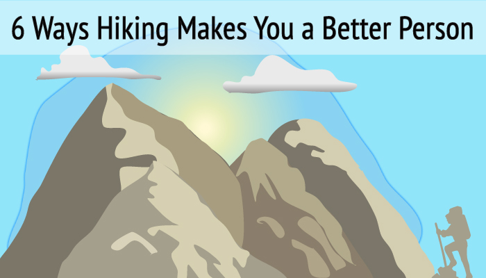 Hiking better person