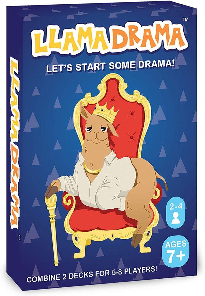 Llama Drama card game