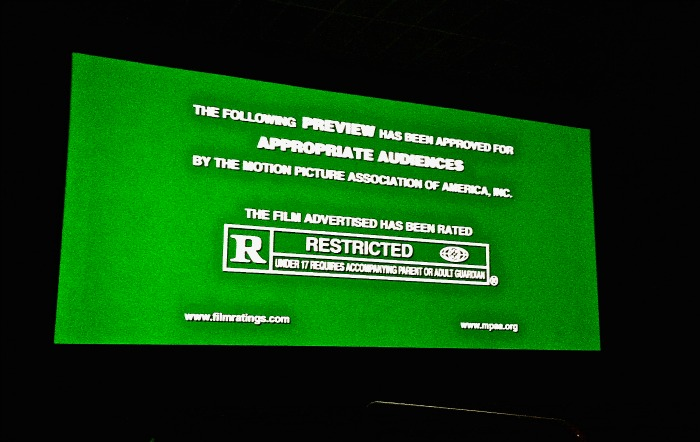 Rated R Screen