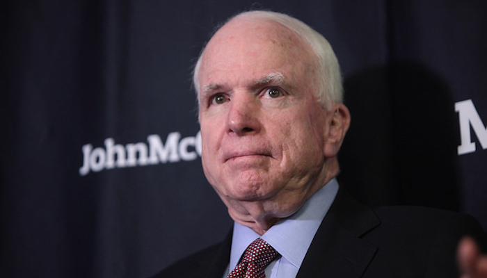 pray senator McCain