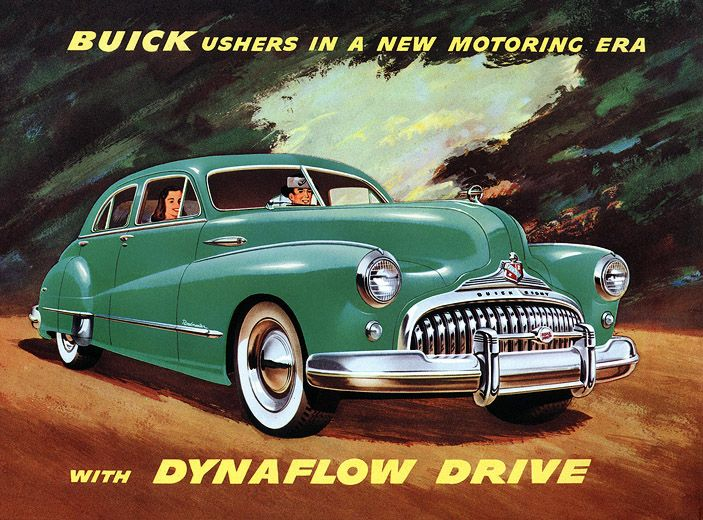 old Buick ad