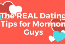 dating tips for Mormon guys title graphic